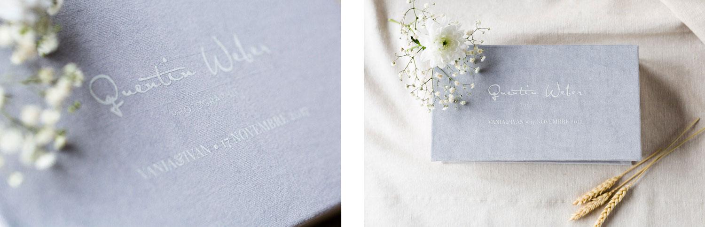 Quentin Weber Photographie - photographe de mariage Annecy - photographe de mariage geneve - packaging usb et tirages photo