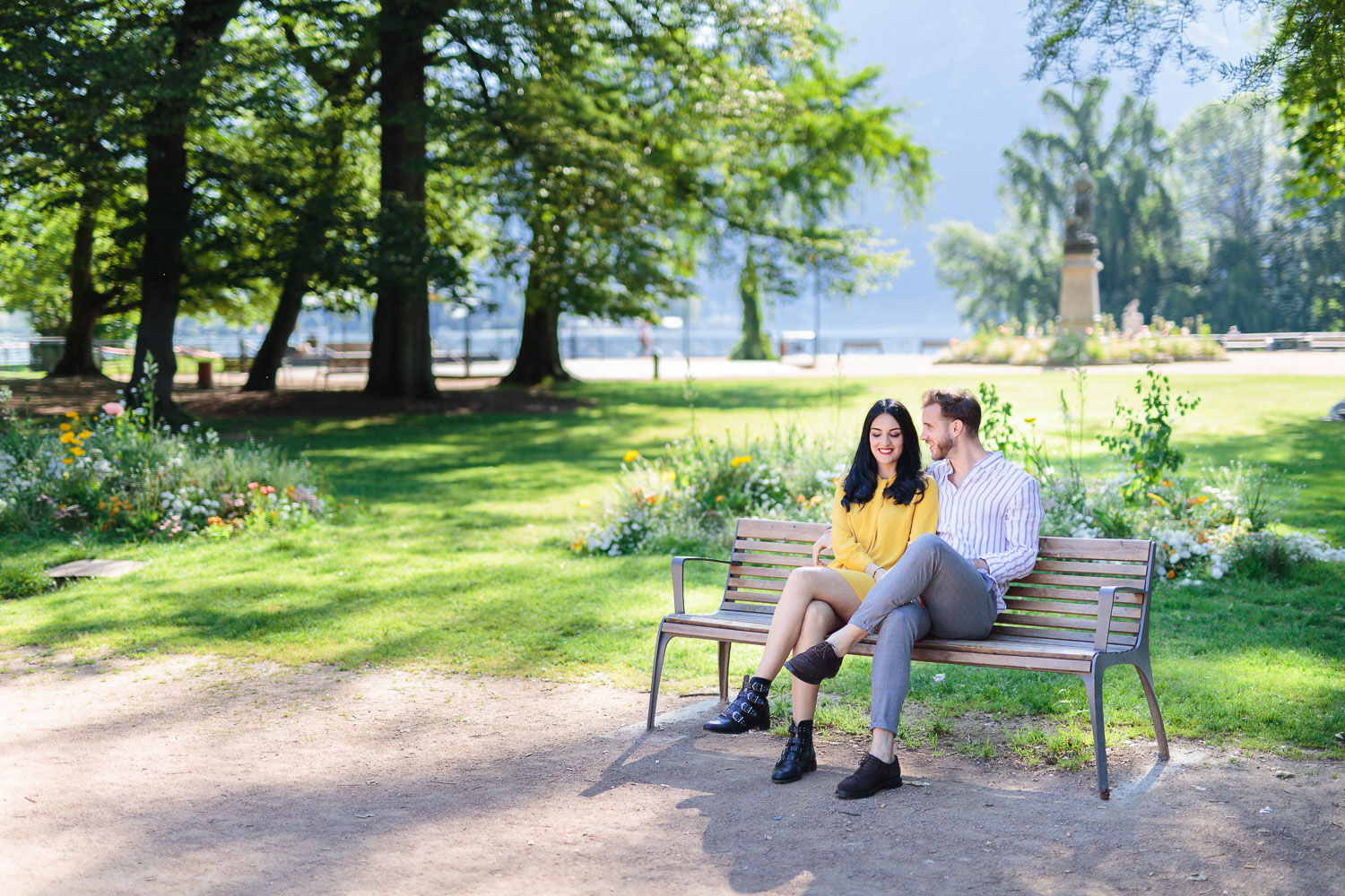 Quentin Weber Photographe portrait couple lac d'Annecy