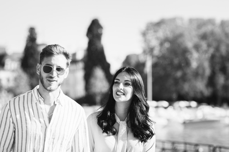 Quentin Weber Photographe portrait couple noir et blanc