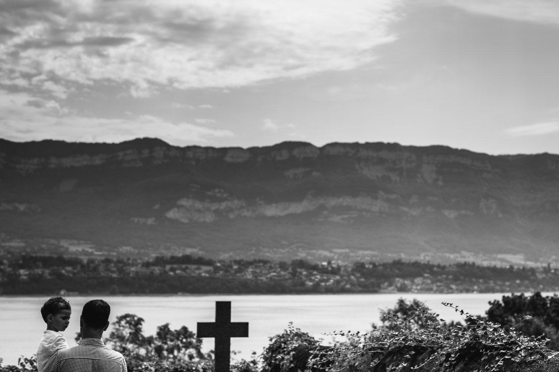 Vue lac du Bourget - Quentin Weber Photographie